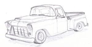 '55 sketch
