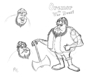 Oremor the War Dwarf!